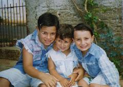 Gustavo, Cristiano e Neto
