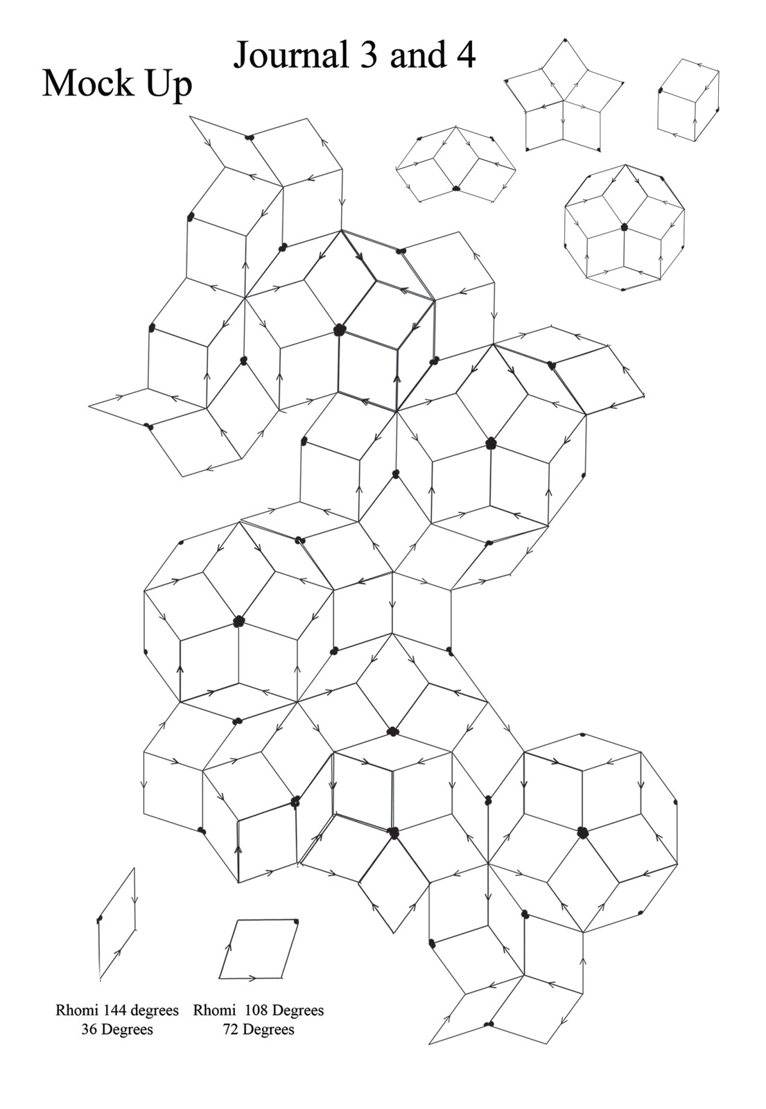 Sophie G Fashion Geometric Constructions Shape Form And