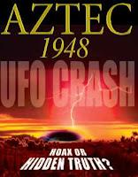 ufo crash at aztec, nm
