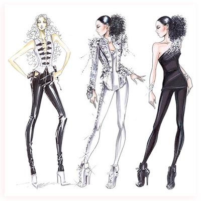 Fabulous Doodles Fashion Illustration Blog By Brooke Hagel Costume Illustration Giorgio Armani