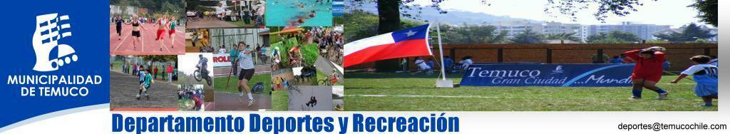 Departamento Deportes Municipalidad Temuco