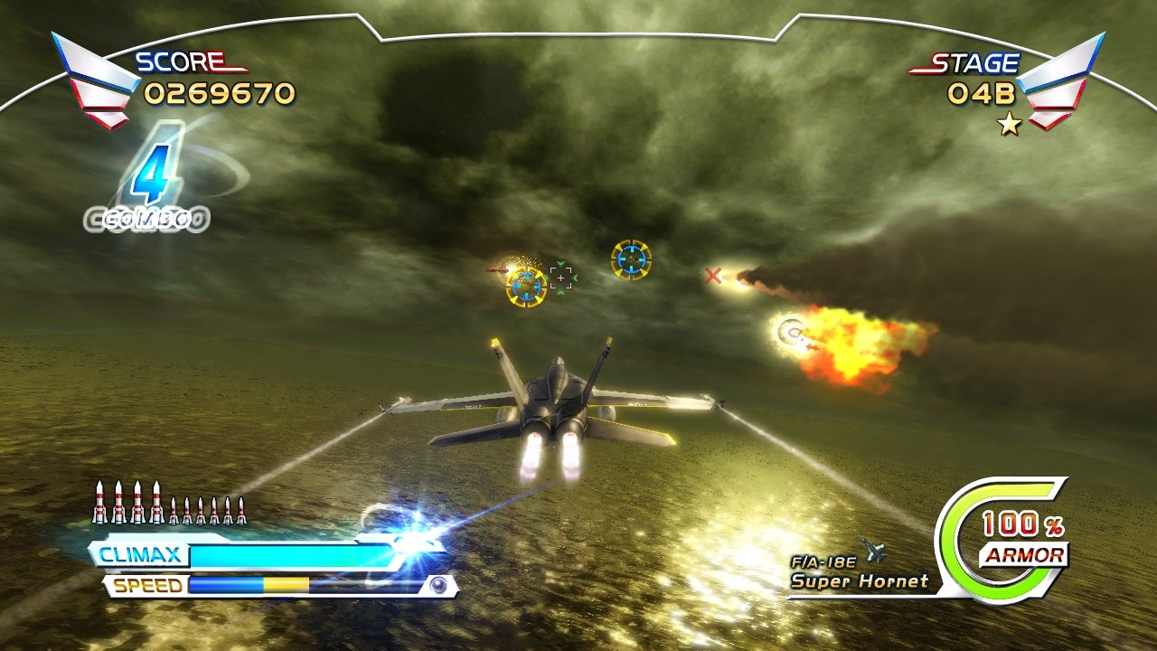 IQGamer: Review: After Burner Climax (PSN & XBLA)