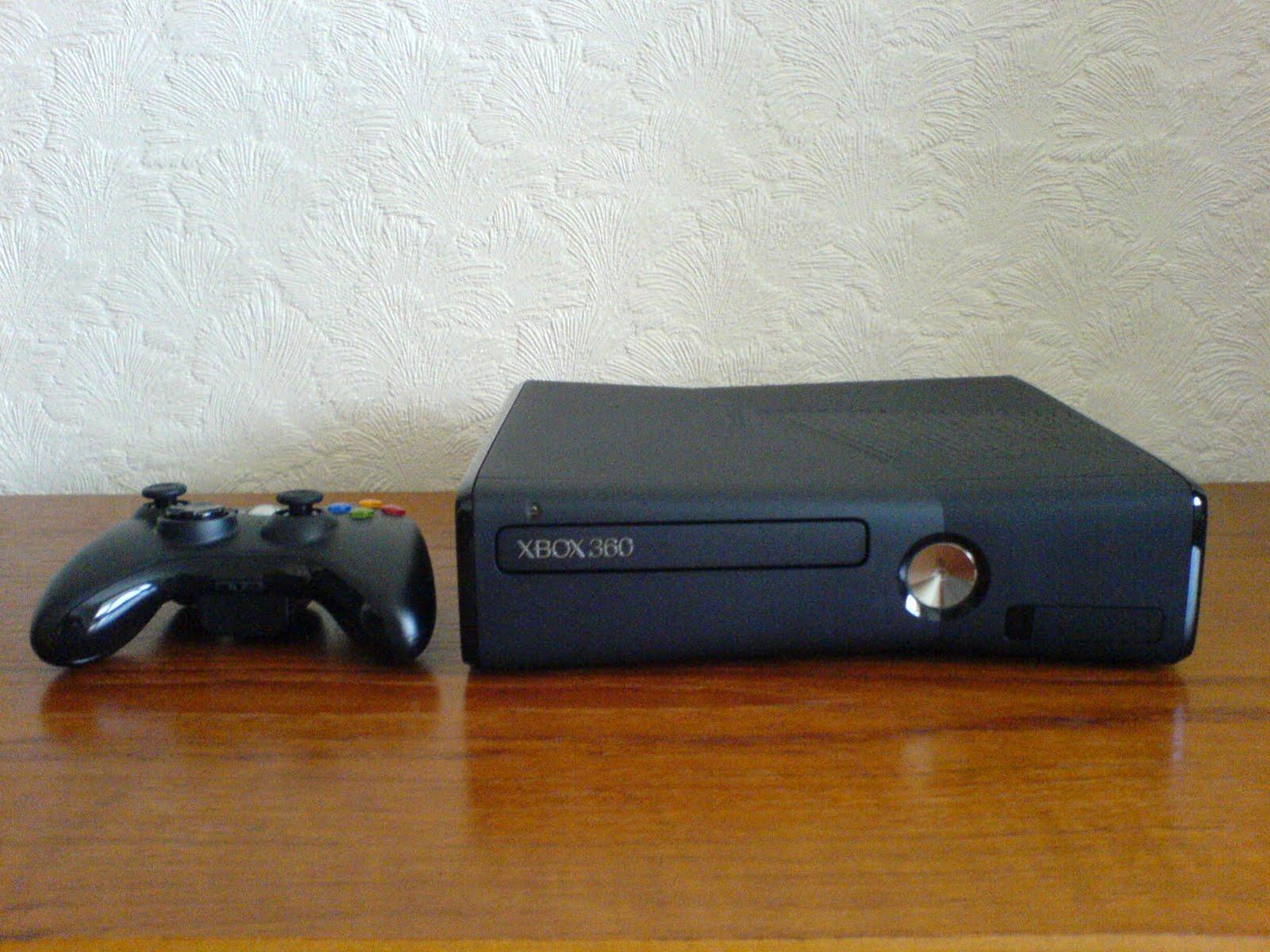 Xbox 360 Slim 4gb IQGamer: Hands-...