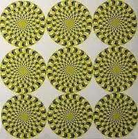 Hinh Illusion %C2%B7+The+9+wheels+seem+to+be+moving+%C2%B7