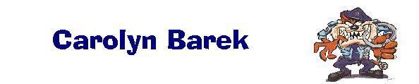 Carolyn Barek