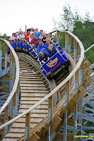 The Voyage - Holiday World - Roller Coaster