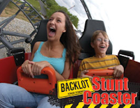 Backlot Stunt Coaster - Kings Dominion