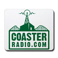 Coaster Radio Mouse Pad