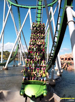 Incredible Hulk Coaster - Islands of Adventure