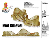 Evel Kneivel Coaster - Six Flags St. Louis