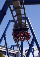 Top Gun - Paramounts Carowinds - Inverted Coasters