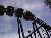 BORG Assimilator - Paramounts Carowinds - Flying Coasters