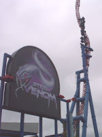 Steel Venom Roller Coaster - Geauga Lake