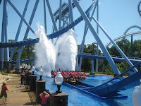 Griffon Roller Coaster Water Splash