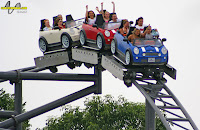 Italian Job Stunt Coaster - Kings Island