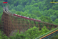 Beast Roller Coaster - Kings Island