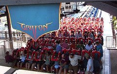Busch Gardens - Griffon Station