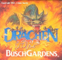 Drachen Fire - Busch Gardens