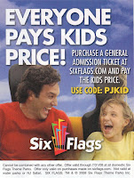Deal on Six Flags Tickets
