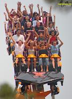 Raging Bull Roller Coaster