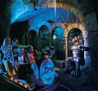 Scooby Doo Spooky Coaster - Warner Bros Movie World