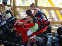 MotoCoaster Trains - Darien Lake