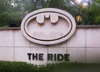 Batman The Ride - Six Flags