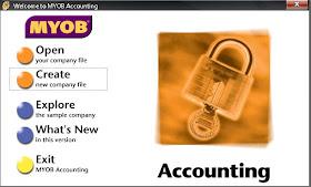 Catatan Imam Memulai Myob Membuat Database Perusahaan Baru