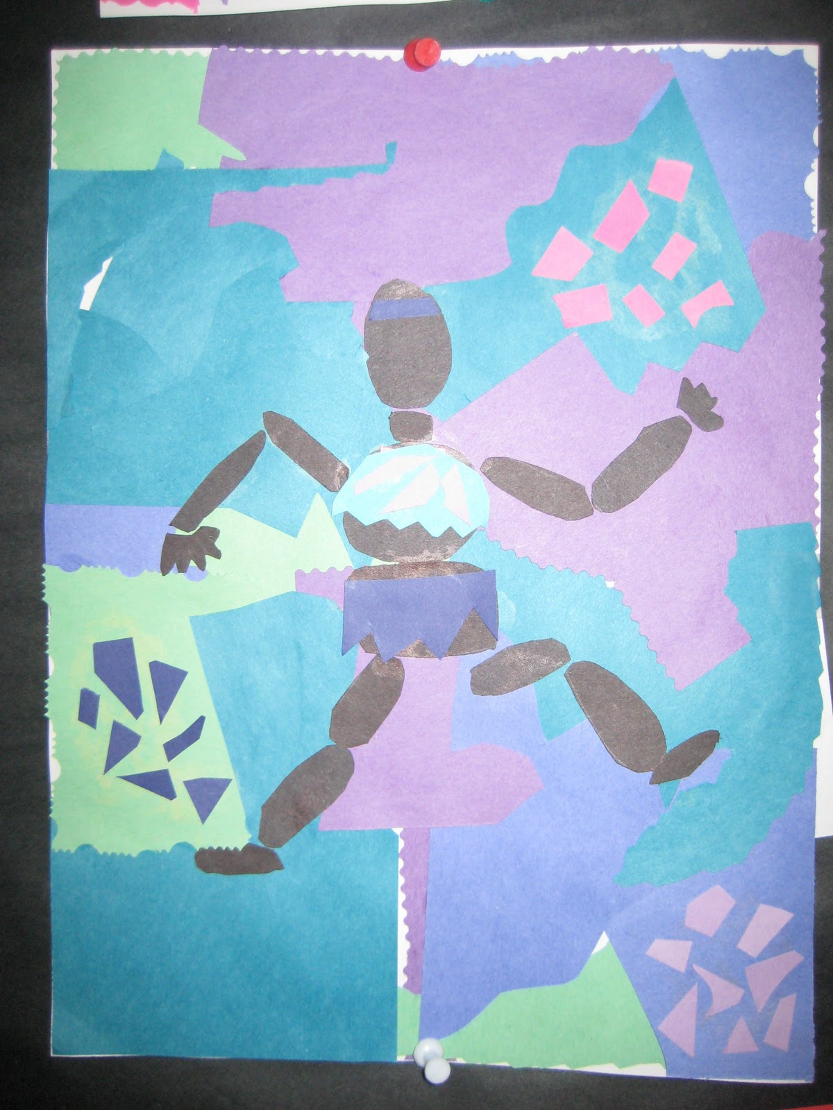 Why Walk When You Can Fly Fourth Grade Matisse Collages