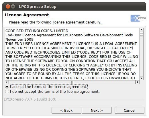 CuBeatSystems: Install LPCXpresso for Linux to Ubuntu 10.10
