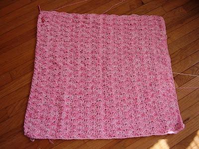 Shell Stitch Baby Blanket Pattern (free)