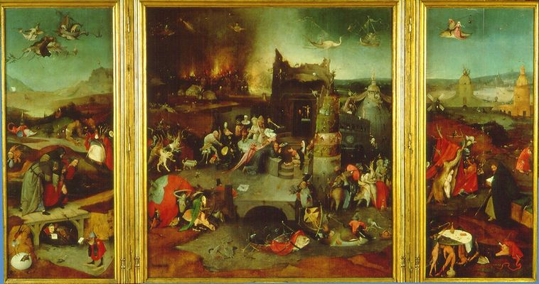 Hello Art Incredible Paintings With Hieronymous Bosch