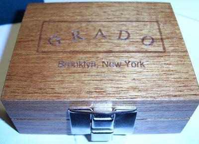 Grado Mahogany Box