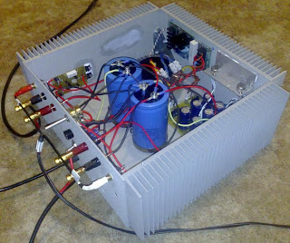 Jean Hiraga Le Monstre DIY Class A Amplifier Project