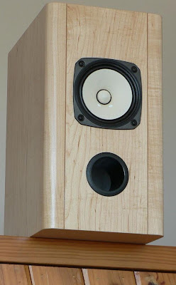 Fostex FE127E DIY Bass Reflex Speakers