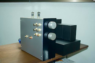 DIY 5687 Tube Preamplifier Project