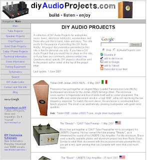 DIY Audio Projects - diyaudioprojects.com