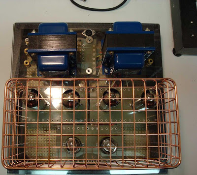 DIY KT77 Tube Amplifier