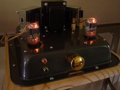 DIY 6T9 Vacuum Tube / Valve Amp