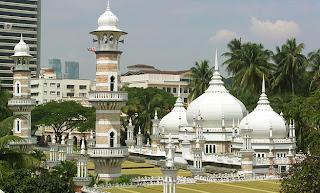 Masjid Jamek Building Kuala Lumpur