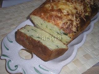 Cake de calabacín y queso (Saskia) Pastelcalabacin