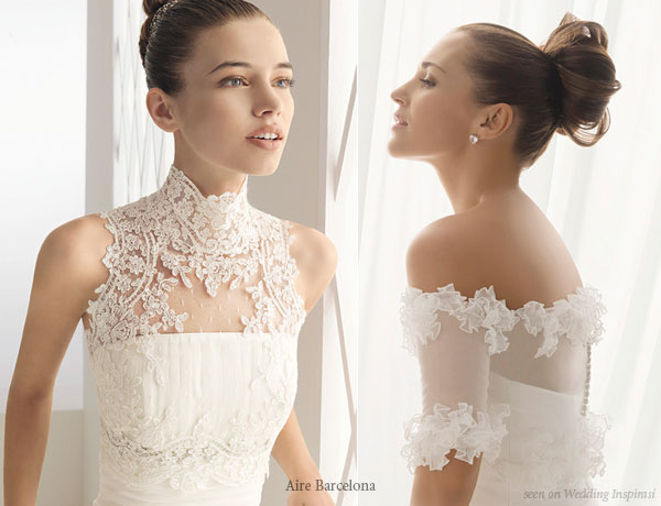 B&B FASHION HOUSE: AIRE BARCELONA WEDDING GOWNS: 2011