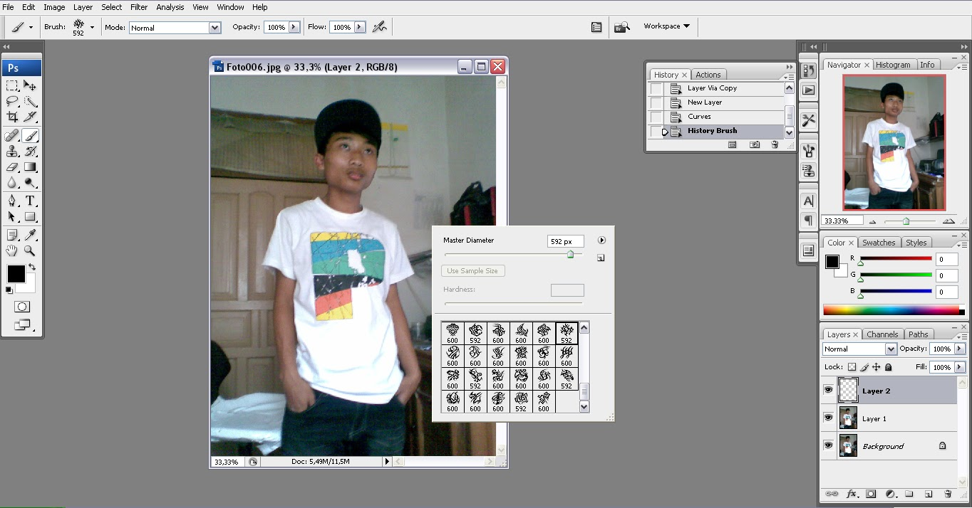 Cara Membuat Tatto Di Photoshop Lam Da Rezpect Blogs