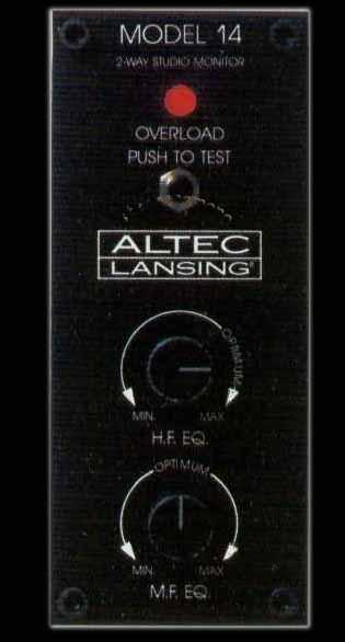 stereonomono - Hi Fi Compendium: ALTEC LANSING MODEL 14