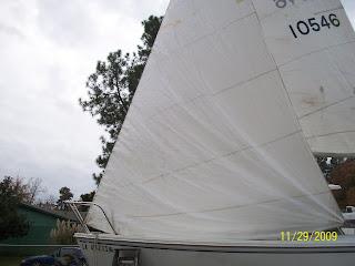 CATALINA 22 REPAIR LOG HOMEPORT SHREVEPORT: 2009