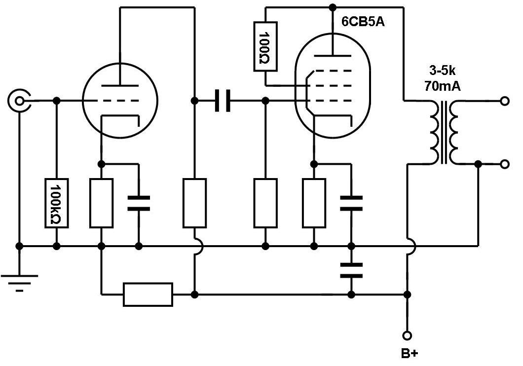 VinylSavor: Single Ended Amplifier Concept, Part 1