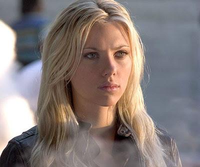 Sexy Scarlett Johansson S Wide Face