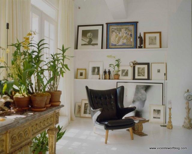 Vincent Wolf Interior Designer: Global Atelier: New Crush: Vicente Wolf