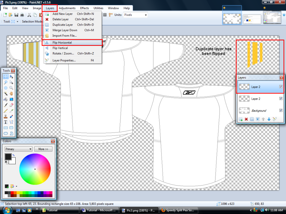 Paint Net How To Duplicate Layer