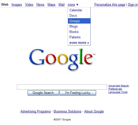 google tests a new design for the homepage. Black Bedroom Furniture Sets. Home Design Ideas